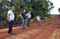 Ponte do Rio do Ramal Yokota foi refeita também. A partir de agora, moradores terão mais segurança ao passaram pelo local