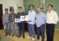 Diretoria da Unebac entregou oficialmente ao prefeito o plano de trabalho para a realização do evento