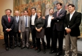 Prefeito Marcel Micheletto com o Beto e Fernanda Richa e autoridades estaduais
