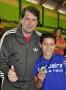 Prefeito Marcel Micheletto participou da formatura de atletas