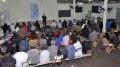 Reunião ocorrida no salão comunitário do Cristo Rei