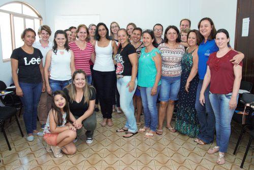 Professores que aderiram ao Projeto Jovens Empreendedores Primeiros Passos (JEPP) em Araruna. Fotografia: Rivaldo de Mattos.