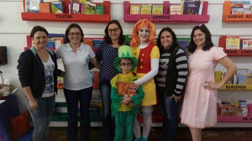 Escola Mário Miguez inaugura nova biblioteca.