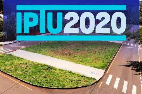 Prefeitura prorroga para agosto e setembro cotas únicas de IPTU