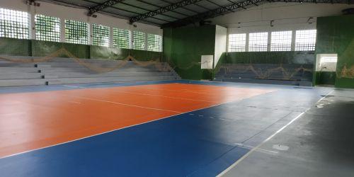 Reforma do ginásio do Centro esportivo está em fase de conclusão