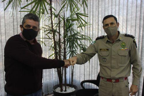 Major se despede do GB de Apucarana e agradece Batistão pela parceira