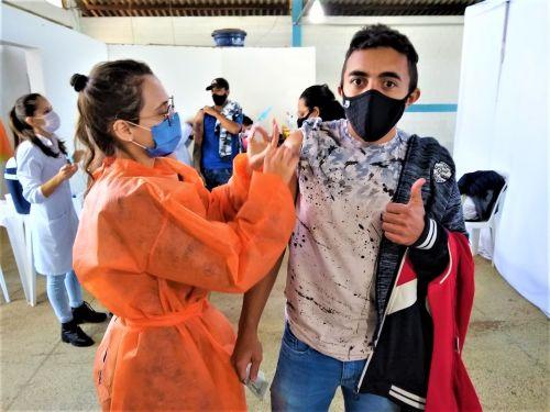 Prefeitura de Mandaguari divulga calendário de vacinação da 2ª dose contra a Covid-19