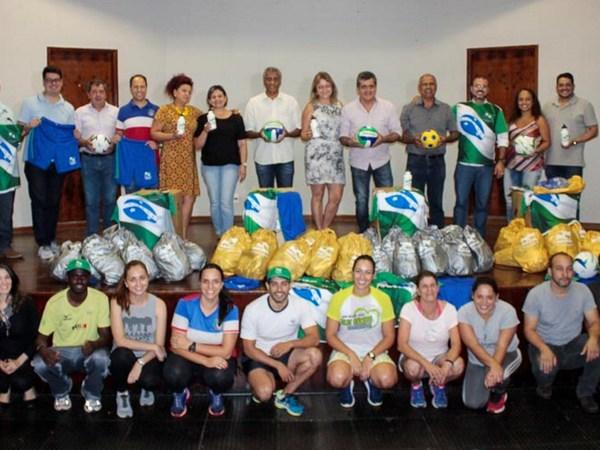 Mandaguari recebe material da Secretaria de Esportes do Paraná
