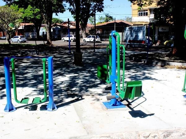 Academia ao ar livre da Praça Independência será inaugurada na quinta (19)